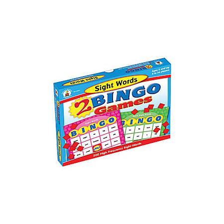 Carson-Dellosa Bingo Games, Sight Words