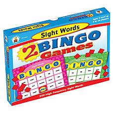 Carson Dellosa Bingo Games Sight Words