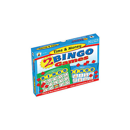 Carson-Dellosa Bingo Games, Time & Money
