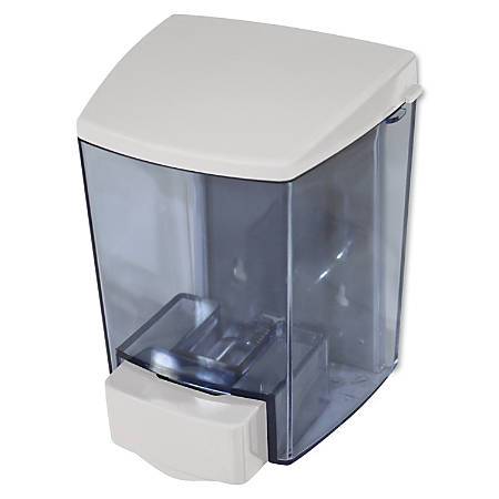Encore Soap Dispenser - Manual - 1.44 quart Capacity - White, Clear - 12 / Carton