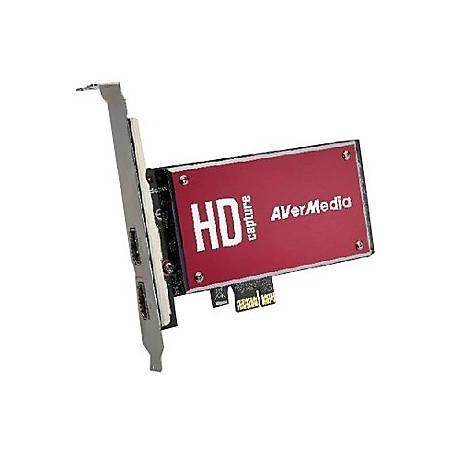 AVerMedia DarkCrystal HD Capture SDK II - Functions: Video Capturing, Video Recording - PCI Express - 1920 x 1080 - NTSC, PAL - H.264 - VGA - PC - Plug-in Card