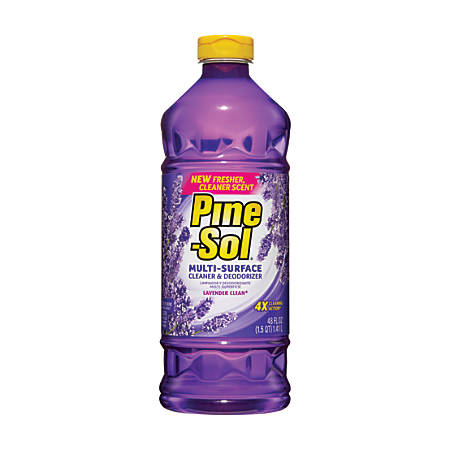 Pine-Sol® Lavender Cleaner, 48 Oz.