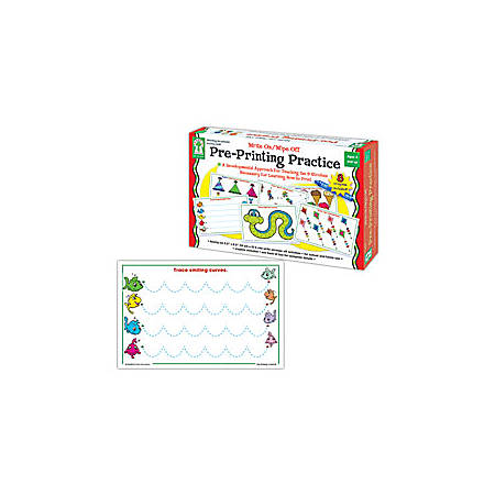 Key Education Write-On/Wipe-Off, Pre-Printing Practice