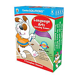 Carson Dellosa CenterSOLUTIONS Learning Games Language
