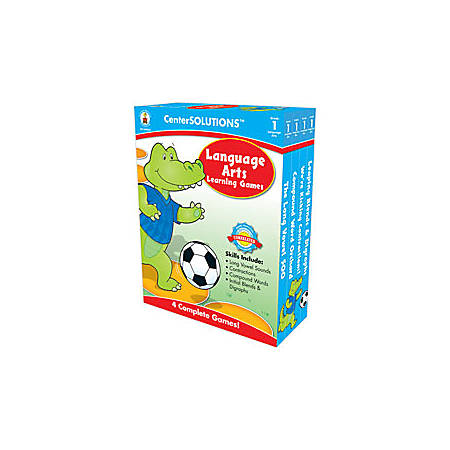 Carson-Dellosa CenterSOLUTIONS™ Learning Games, Language Arts, Grade 1