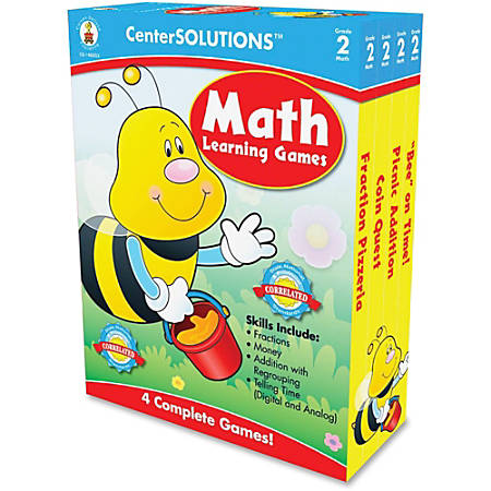 Carson-Dellosa CenterSOLUTIONS™ Learning Games, Math, Grade K
