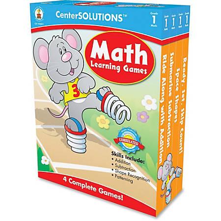Carson-Dellosa CenterSOLUTIONS™ Learning Games, Math, Grade 2