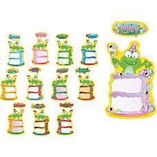 Carson Dellosa Frog Birthday Bulletin Board