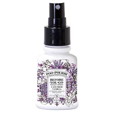 Poo~Pourri Lavender Vanilla Air Freshener, 1.4 Oz