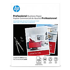 HP Professional Business Laser Glossy Paper