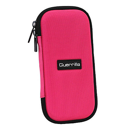 Guerrilla G3 Series Zipper Calculator Case, Pink, G3-CALCCASEPNK