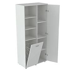 Inval StorageBreakroom Cabinet With Tilt Bin