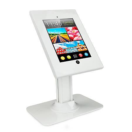 "Mount-It Anti-Theft Mount For 9.7"" Tablets, 17.5""H x 11.88""W x 7.88""D, White, MI-3771"