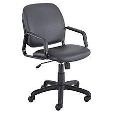 Safco Cava High Back Vinyl Chair