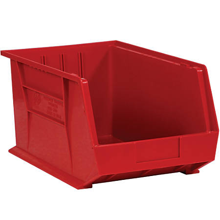 d1a3fe5183b Office Depot Brand Plastic Stack And Hang Bin Boxes 5 38 x 4 18 x 3 ...