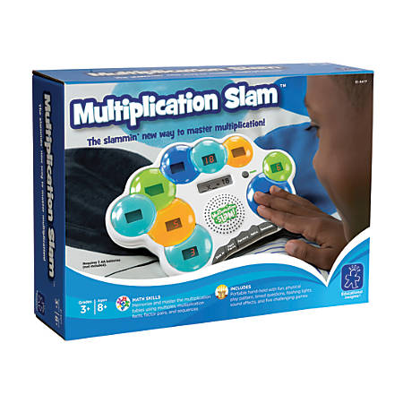 Learning Resources® Multiplication Slam™ Electronic Game