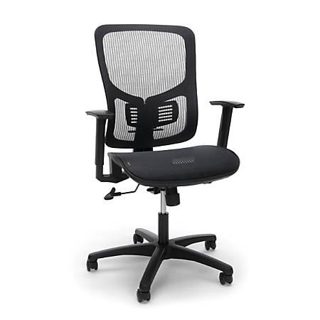 OFM Essentials Ergonomic High-Back Office Chair, Black