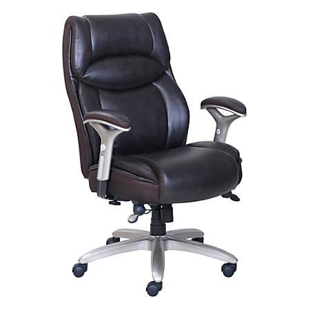 Serta Smart Layers Jennings Chair Brown Office Depot