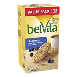 BELVITA Breakfast Biscuits Blueberry, 12 Count, 3 Pack
