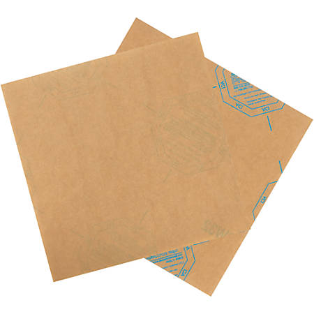 "Office Depot® Brand VCI Paper Sheets, 8"" x 8"", Kraft, Case Of 1,000"
