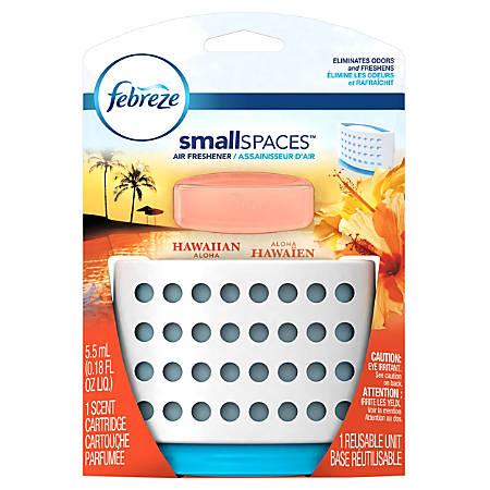 Febreze® SmallSPACES™ Air Freshener Kit, Hawaiian Aloha, 5.5 ml