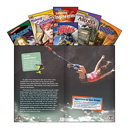 Teacher Created Materials TIME Informational Texts, Set 2, Grade 7, Set Of 6