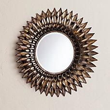 Southern Enterprises Leandro Round Wall Mirror
