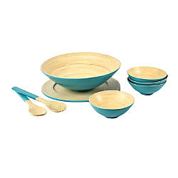 Orbit 8 Piece Bamboo Bowl Set