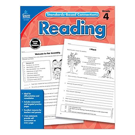 Carson-Dellosa Standards-Based Connections Reading Workbook, Grade 4