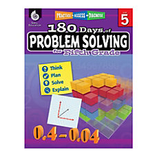 Shell Education 180 Days Of Problem