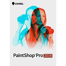 Corel PaintShop Pro 2019 Traditional Disc
