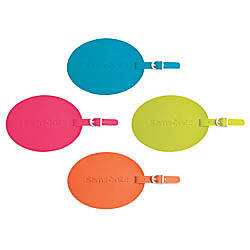 Samsonite Vinyl ID Tag Assorted Colors