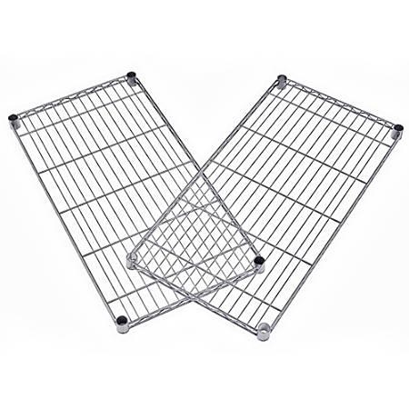 """OFM Extra Wire Shelf For Heavy-Duty Storage Units, 1""""H x 48""""W x 18""""D, Silver"""