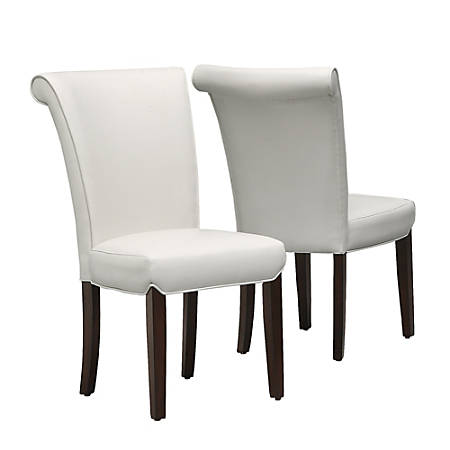 Monarch Specialties Brent Dining Chairs, Taupe/Cappuccino, Set Of 2 Chairs