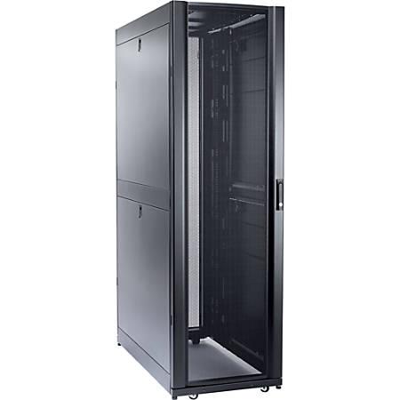 Schneider Electric NetShelter SX 48U 600mm Wide x 1200mm Deep Enclosure -  For Server - 48U Rack Height x 19