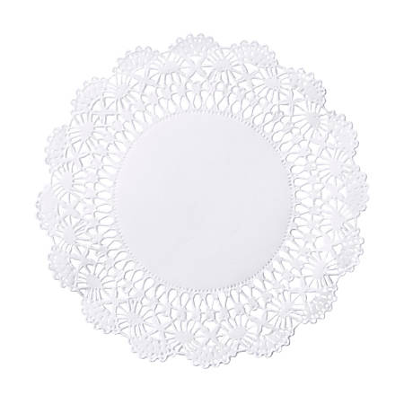 "Hoffmaster Cambridge Lace Doilies, 5"", White, Case Of 10,000 Doilies"