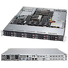 Supermicro SuperServer 1028R WC1RT Server rack