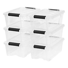IRIS Stack Pull Boxes 12 Quart