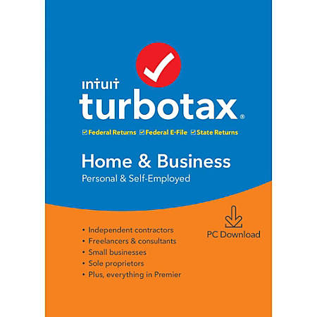 TurboTax® 2019, Home and Business Federal Efile, Download
