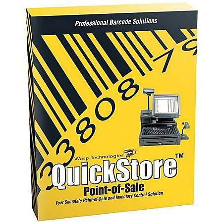 QuickStore POS Professional Edition - Box pack - 1 user - CD - Win