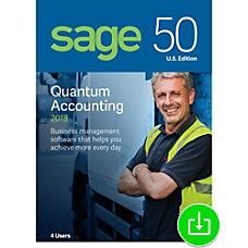 Sage 50 Quantum Accounting 2018 US
