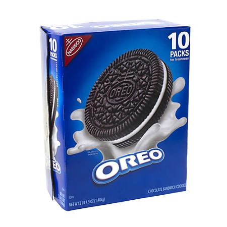 Nabisco® Oreos, 3.3-Lb Box, Pack Of 10