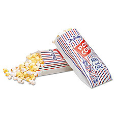 Bagcraft Pinch Bottom Paper Popcorn Bags