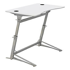 Safco Verve Standing Desk With 2