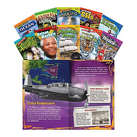 Teacher Created Materials TIME FOR KIDS® Nonfiction Book Set, Set 2, Set Of 10 Books, Grade 4