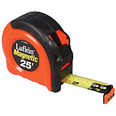 25 MAGNETIC ENDHOOK TAPE MEASURE