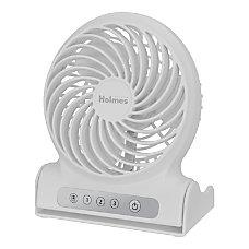 Holmes Personal Rechargeable Fan 6 12