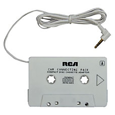 RCA Audio Cassette Adapter Yes White