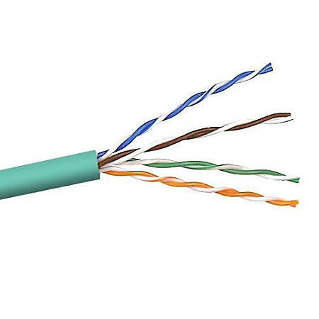 Belkin Cat5e Bulk Cable - 1000ft - Green