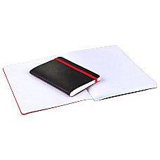 Black n Red Stitched Business Journal